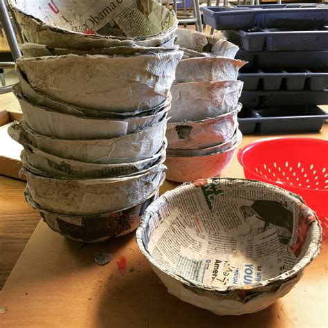 How To Make Paper Mache Bowls - easy paper mache bowls paper mache bowls paper mache