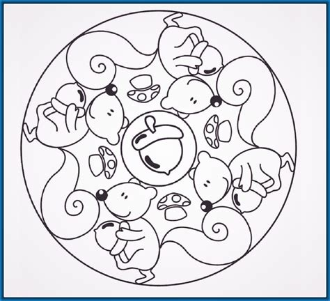 imagenes de mandalas para niños mandalas para colorear para ni 241 os de primaria archivos
