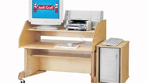 computer desk school and play furniture youtube