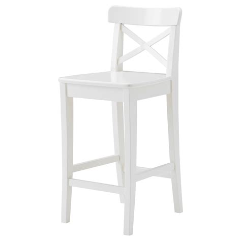 White Wooden Bar Stool White Wood Bar Stools Homesfeed