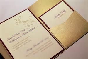 wedding invitation pockets