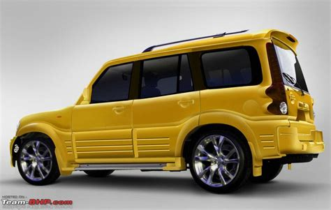 mahindra scorpio modified the gallery for gt mahindra scorpio white modified