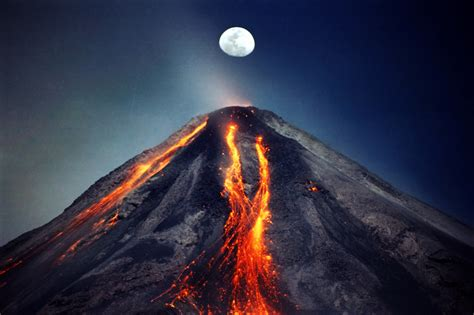 lava ash lightning the volcano photo wired