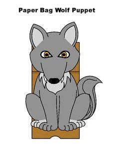 wolf puppet template wolf puppet preschool curriculum puppet
