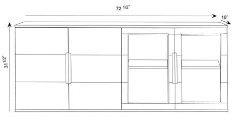 Cabinet Hays by Modern Cabinet Black Oak With Glass Doors Zuri