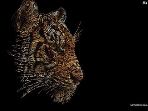 abstract tiger wallpaper abstract tiger wallpaper wallpapersafari