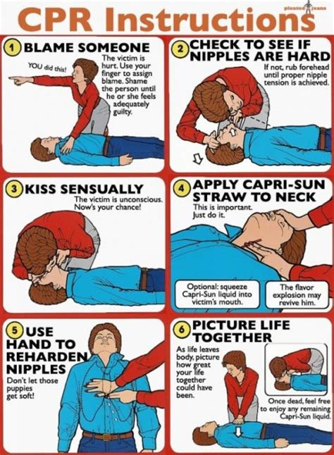 how to give a cpr how not to perform cpr neatorama