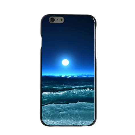 Casing Iphone 6s Airwaves Custom custom cover for iphone 5 5s 6 6s plus moonlit waves ebay