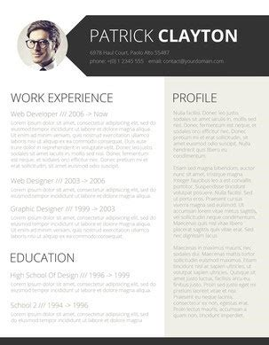 Fancy Resume Templates by 49 Modern Resume Templates That Get You Hired Fancy Resumes