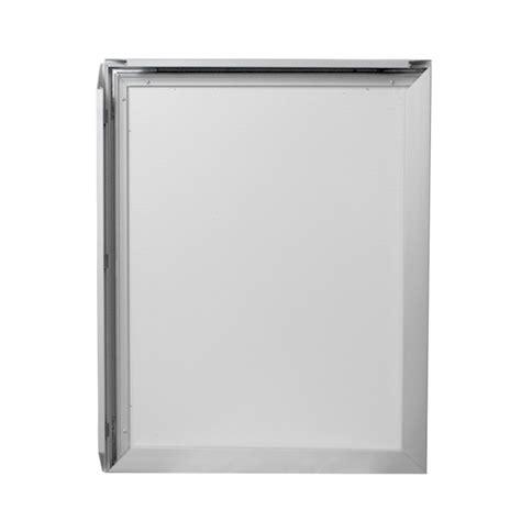 snap light box 16 x 20 quot aluminium snap frame led light box silver