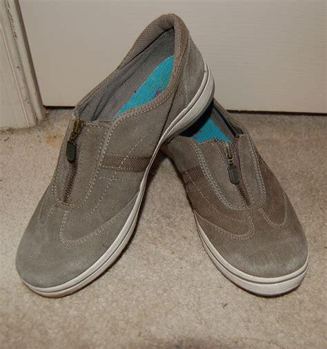 Slip On Zipper keds suede sneaker slip on zipper closure light olive