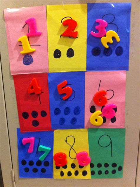 number crafts for crafts with numbers for toddlers