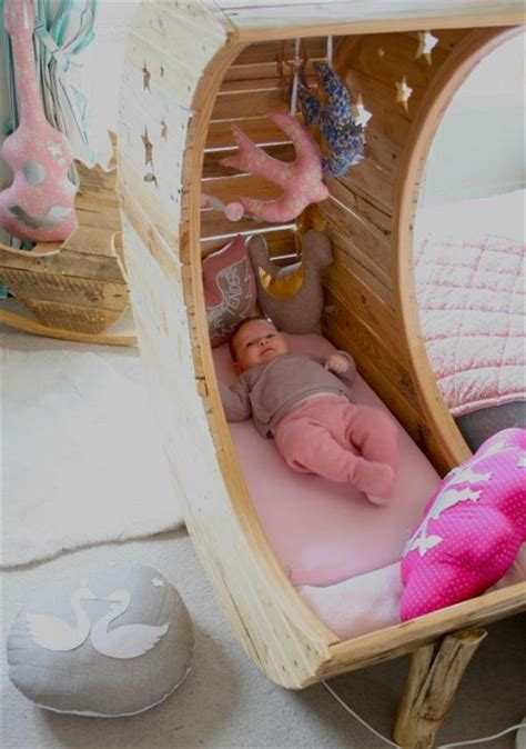 Diy Moon Cot Baby Cradle - cozy baby crib with moon shape home design garden