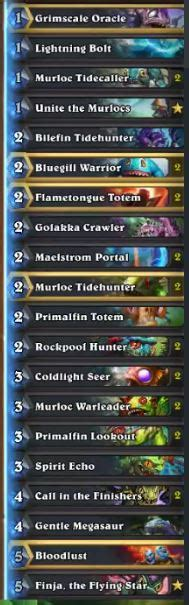 shaman murloc deck hs decks and guides pro tips to own the meta and make legend