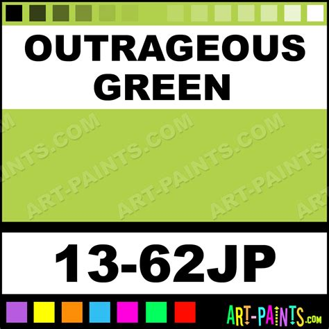 outrageous green universe paintmarker paints and marking pens 13 62jp outrageous green
