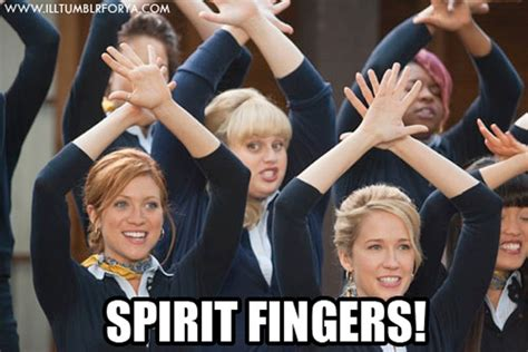 Spirit Fingers Meme - pitch perfect meme tumblr www imgkid com the image kid