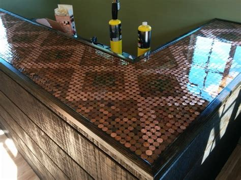 penny bar top 11 amazing things you can make with pennies