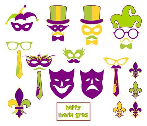 printable mardi gras photo booth props 17 best images about mardi gras on pinterest masquerade