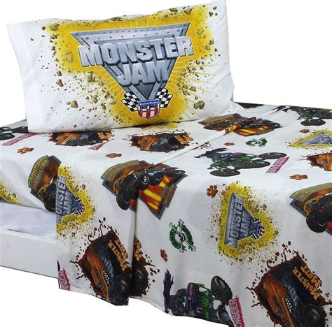 monster jam bedroom monster jam bed sheet set grave digger bedding accessories
