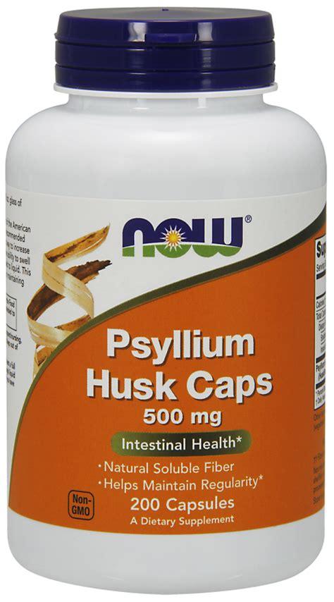 Psyllium Husk Capsules Detox by Psyllium Husk 500 Mg Capsules Now Foods