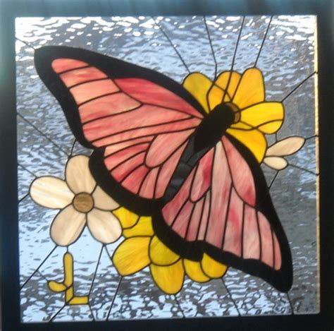 Stained Glass Butterfly L by 1000 Images About Stained Glass Butterflies On
