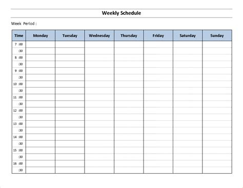 weekly schedule planner template 3 work week calendar template ganttchart template