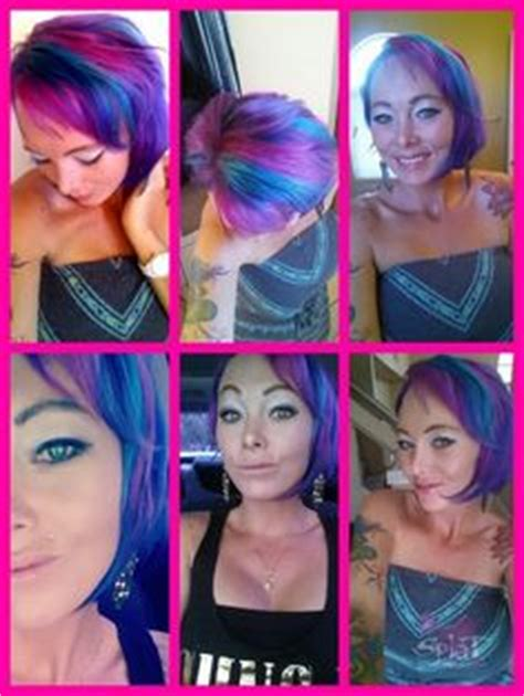 splat crimson obsession streaks 1000 images about multi colored hair on pinterest splat