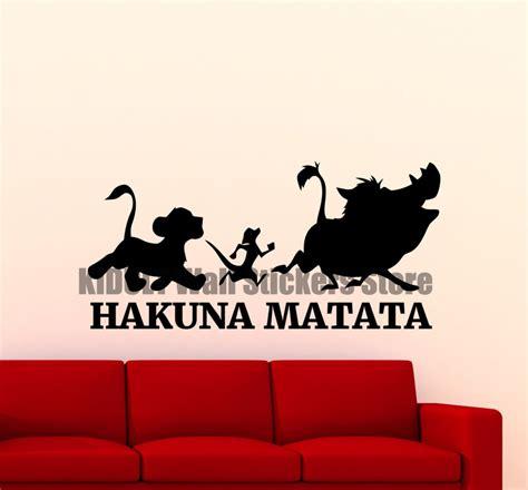 Hakuna Matata Wall Stickers online buy wholesale disney stickers from china disney