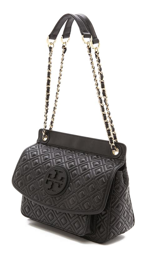Burch Quilted Handbag by Burch Marion Quilted Shoulder Bag In Black Lyst