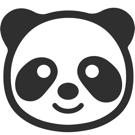 panda emoji tattoo emoji panda transparent png stickpng