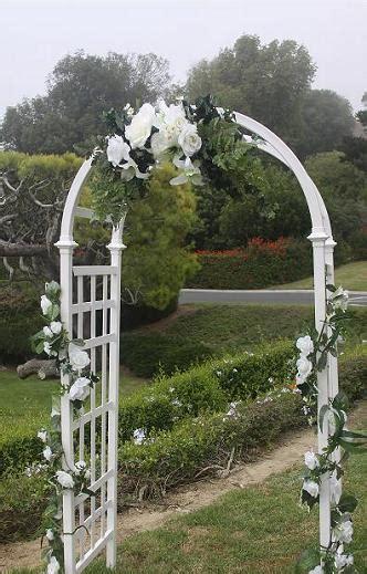 Wedding Lattice Arch by Wedding Arch Decorations