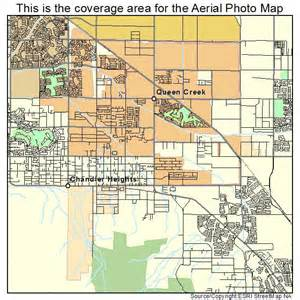 aerial photography map of creek az arizona