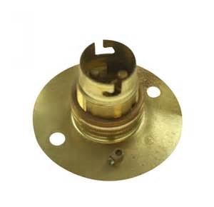 light holder brass bayonet cap light bulb holder at uk electrical supplies