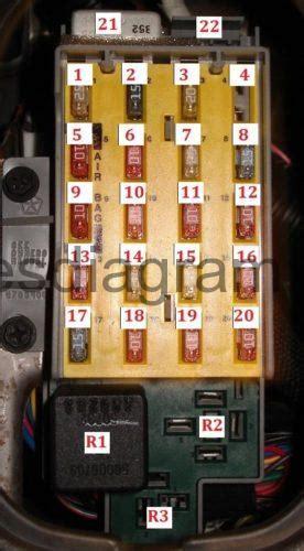 fuses  relay chrysler pt cruiser