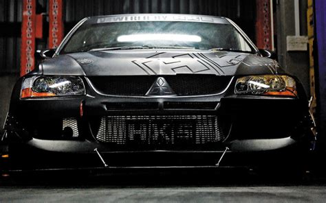 mitsubishi lancer black modified modified car mitsubishi lancer evolution 9 mr torque