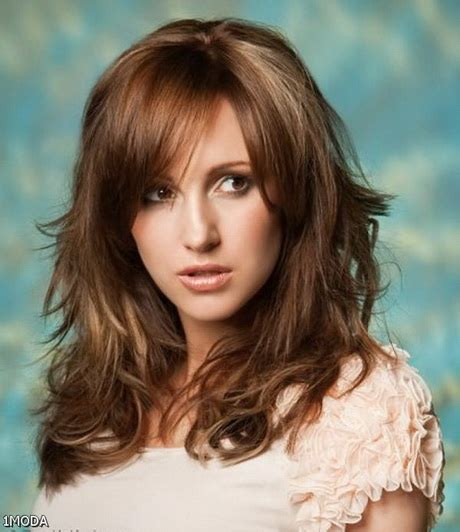 haircuts with lots of layers and bangs long hairstyles with layers 2016