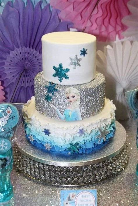 Decorating Frozen Cake by Frozen Cakes And Decoration Ideas For The Greatest Birthday