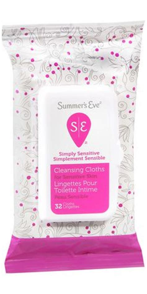 summers eve simply sensitive cleansing cloths walmart