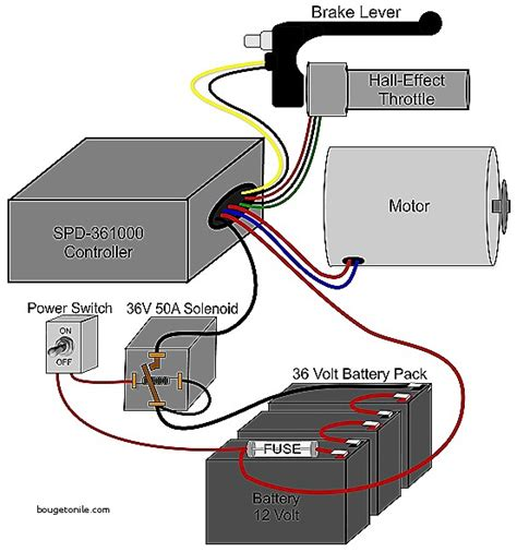 electric bicycle wiring diagram wiring diagram