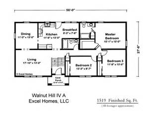 Open Concept Ranch Floor Plans by Ricon Homes