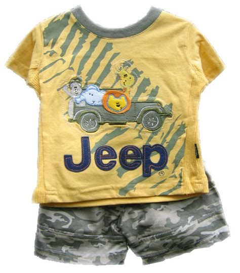 jeep baby clothes all things jeep jeep baby clothing yellow jeep safari