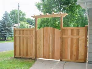 Pergola Over Gate by 6
