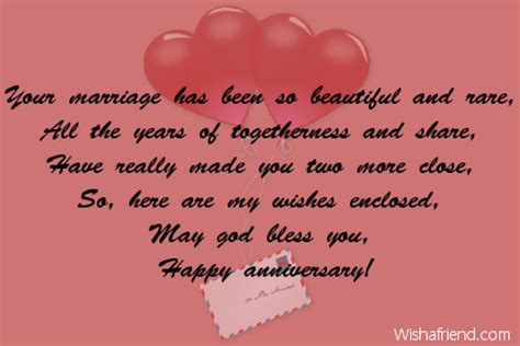 Wedding Anniversary Wishes Christian by Religious Anniversary Wishes