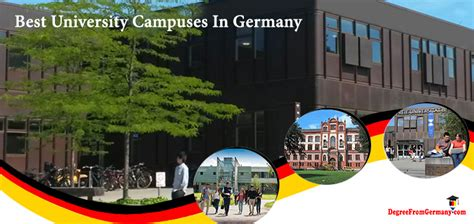 Universities In Berlin For Mba by 6 German Universities With The Most Beautiful Cuses