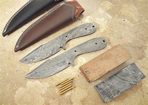 knife blank kits knife kit shop collectibles daily