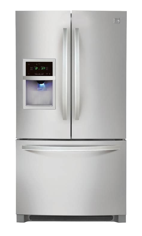door refrigerator bottom freezer kenmore 70313 26 7 cu ft door bottom freezer