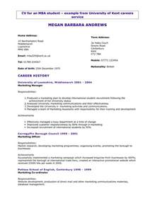 Resume Format Doc For Polytechnic Students Cv Template Http Webdesign14