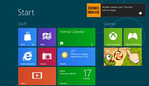 Toaster Small What Are Toasts Or Toast Notifications In Windows 8