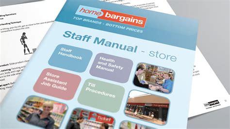 employee handbook design cheshire uk