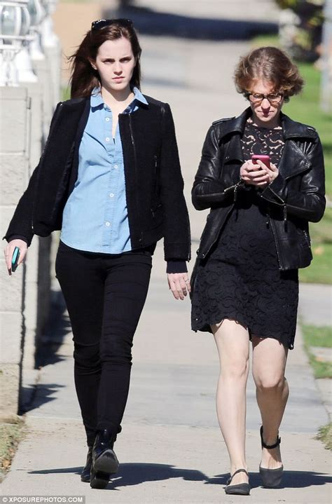 emma watson lifestyle emma watson steps out in a preppy oxford shirt for lunch